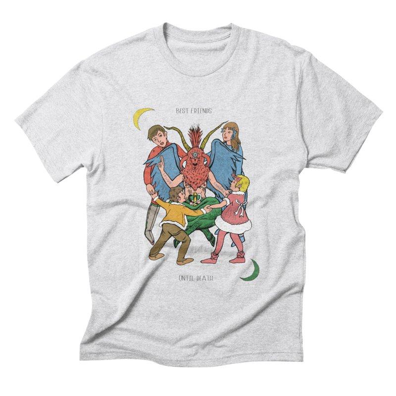 Best Friends Until Death Men's Triblend T-Shirt by miskel's Shop