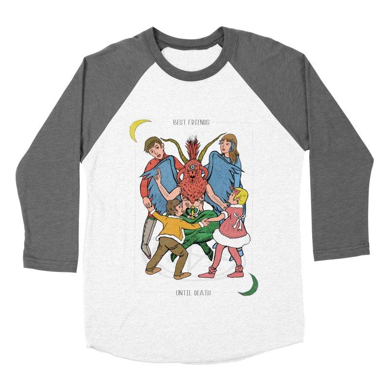 Best Friends Until Death Men's Baseball Triblend Longsleeve T-Shirt by miskel's Shop