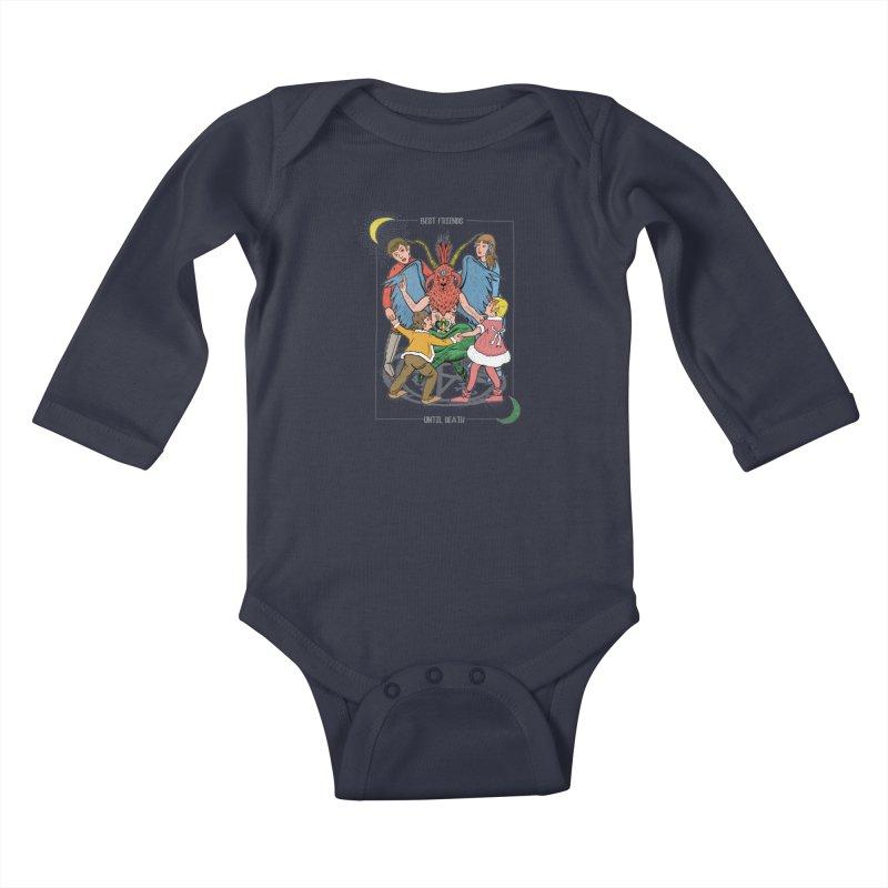Best Friends Until Death Kids Baby Longsleeve Bodysuit by miskel's Shop
