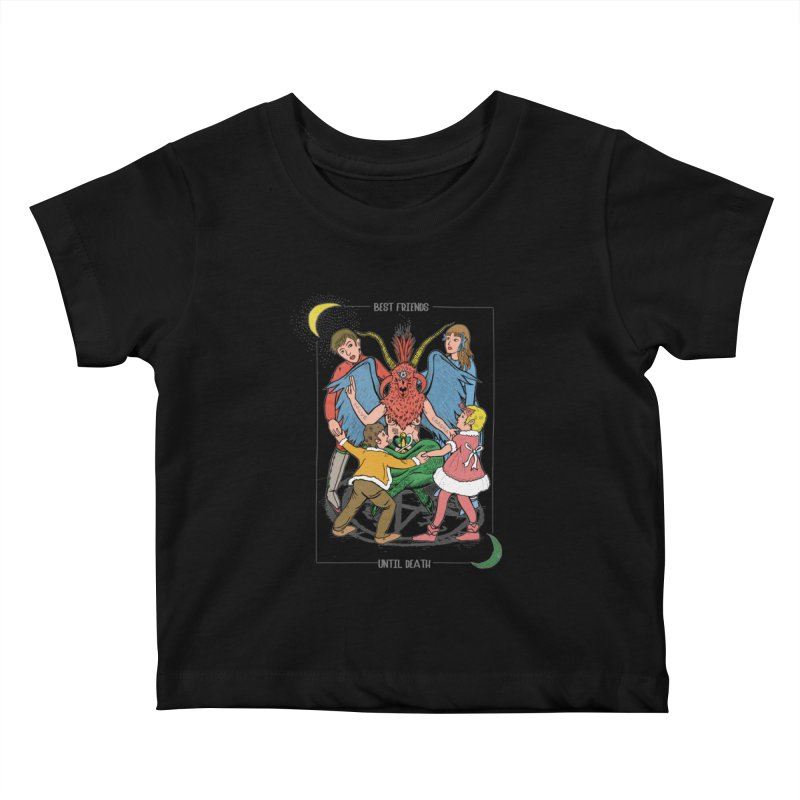 Best Friends Until Death Kids Baby T-Shirt by miskel's Shop