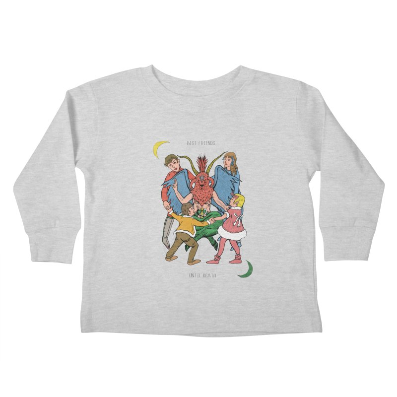 Best Friends Until Death Kids Toddler Longsleeve T-Shirt by miskel's Shop