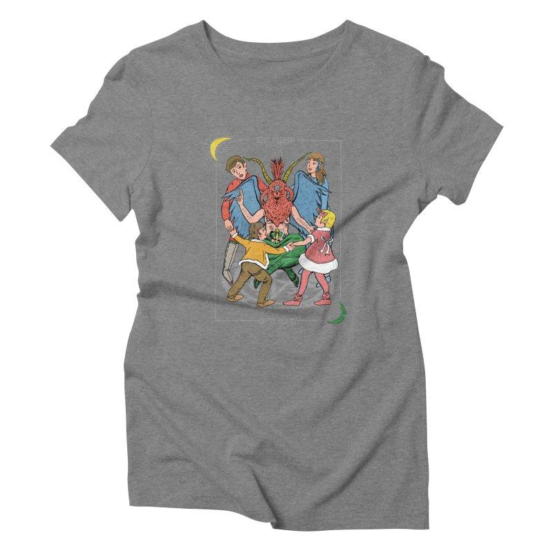 Best Friends Until Death Women's Triblend T-Shirt by miskel's Shop