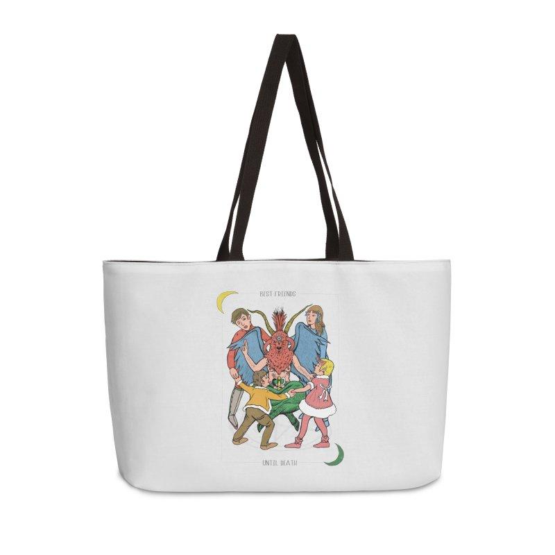 Best Friends Until Death Accessories Weekender Bag Bag by miskel's Shop