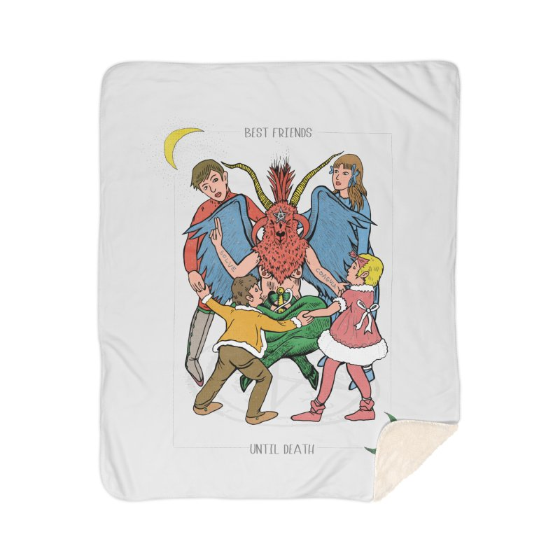 Best Friends Until Death Home Blanket by miskel's Shop