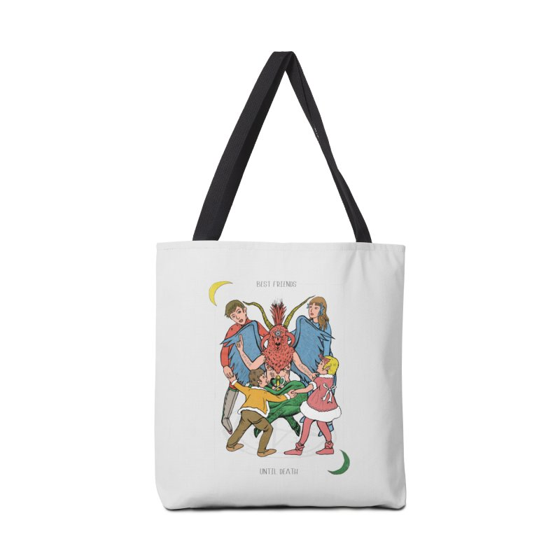 Best Friends Until Death Accessories Tote Bag Bag by miskel's Shop