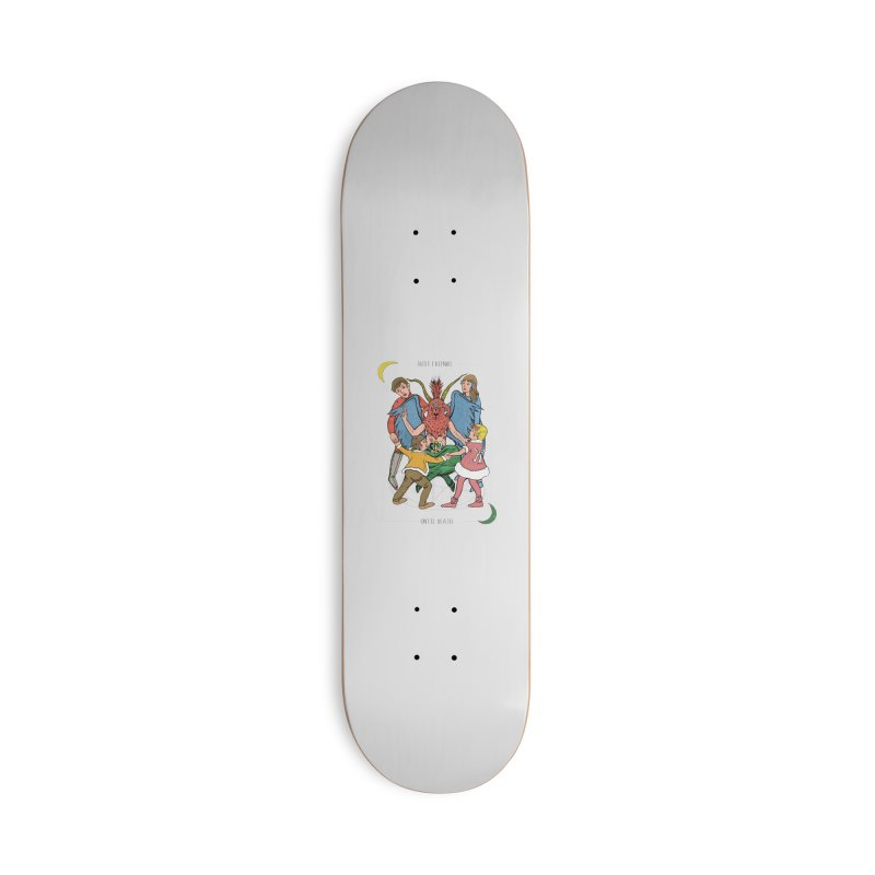 Best Friends Until Death Accessories Deck Only Skateboard by miskel's Shop