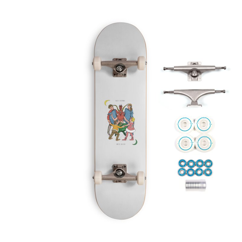 Best Friends Until Death Accessories Skateboard by miskel's Shop