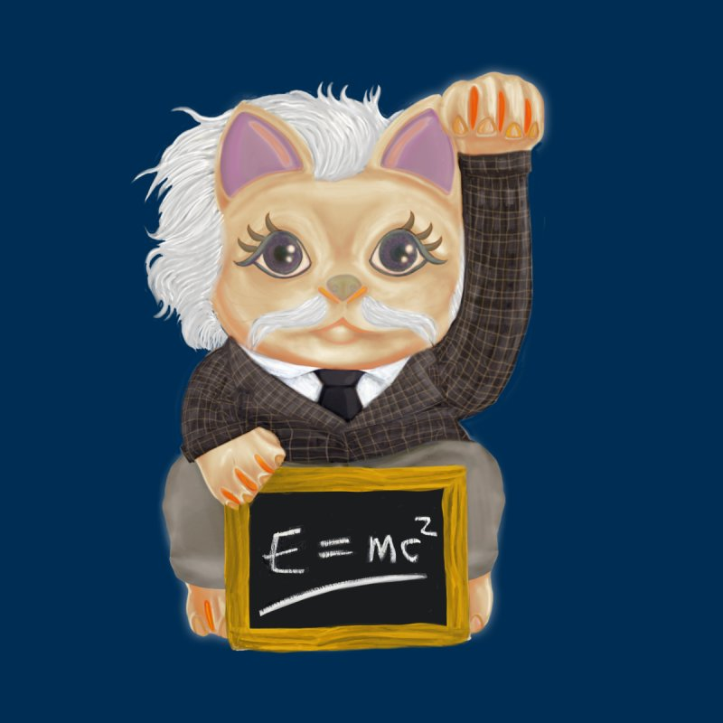 Maneki Neko Good Luck Einstein Cosplay Outfit Gift 2020 Accessories Face Mask by miskel's Shop