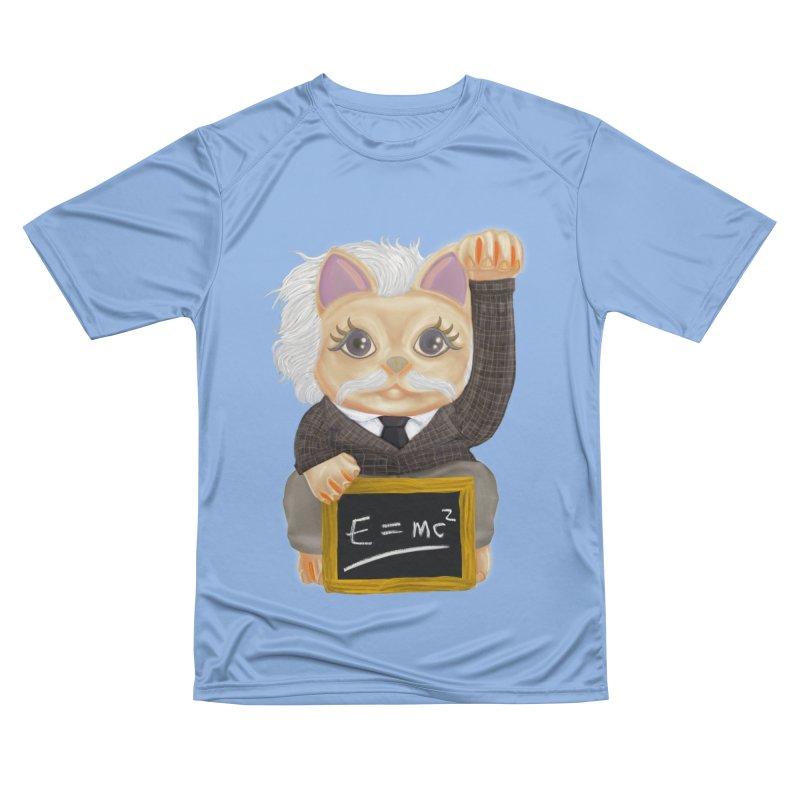 Maneki Neko Good Luck Einstein Cosplay Outfit Gift 2020 Women's T-Shirt by miskel's Shop
