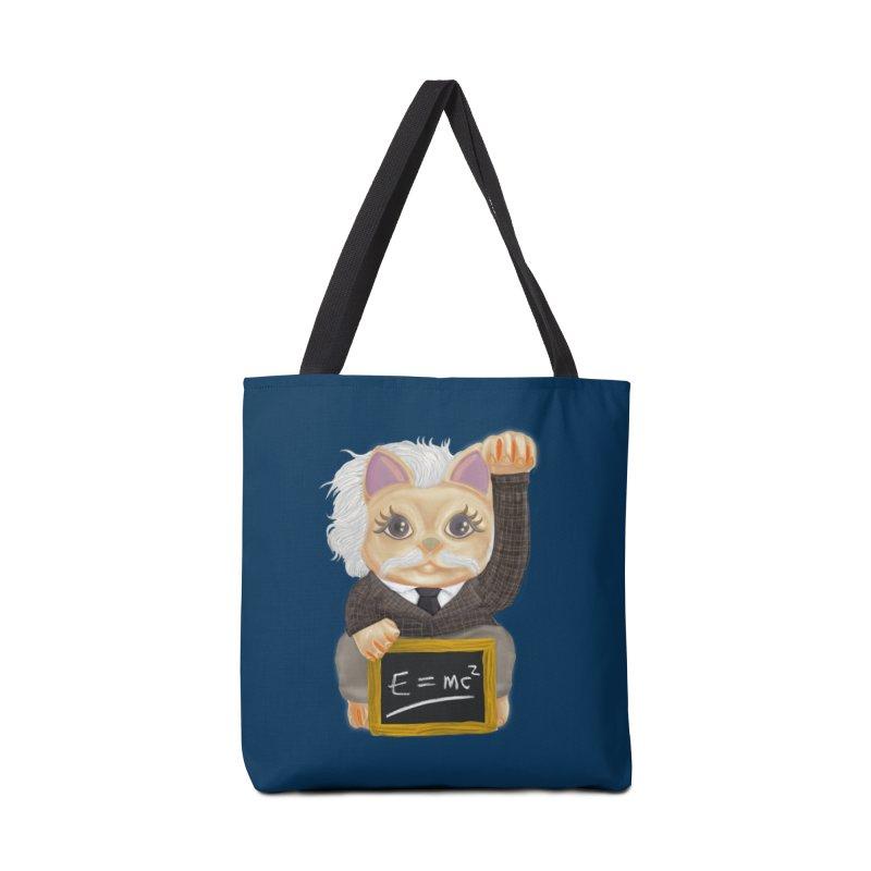 Maneki Neko Good Luck Einstein Cosplay Outfit Gift 2020 Accessories Bag by miskel's Shop
