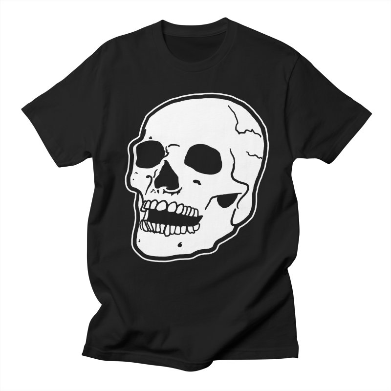 Classic Skull in Men's T-shirt Black by miskel's Shop