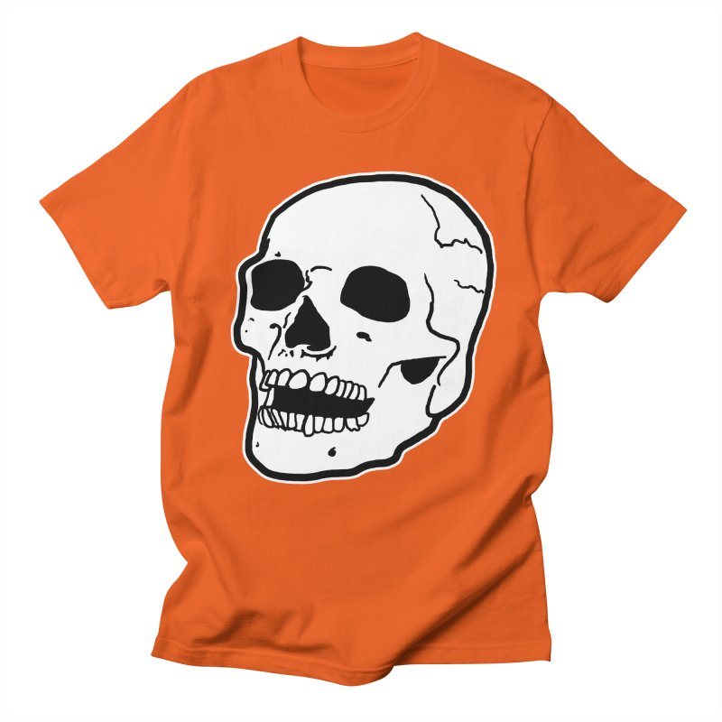 Classic Skull Men's Regular T-Shirt by miskel's Shop