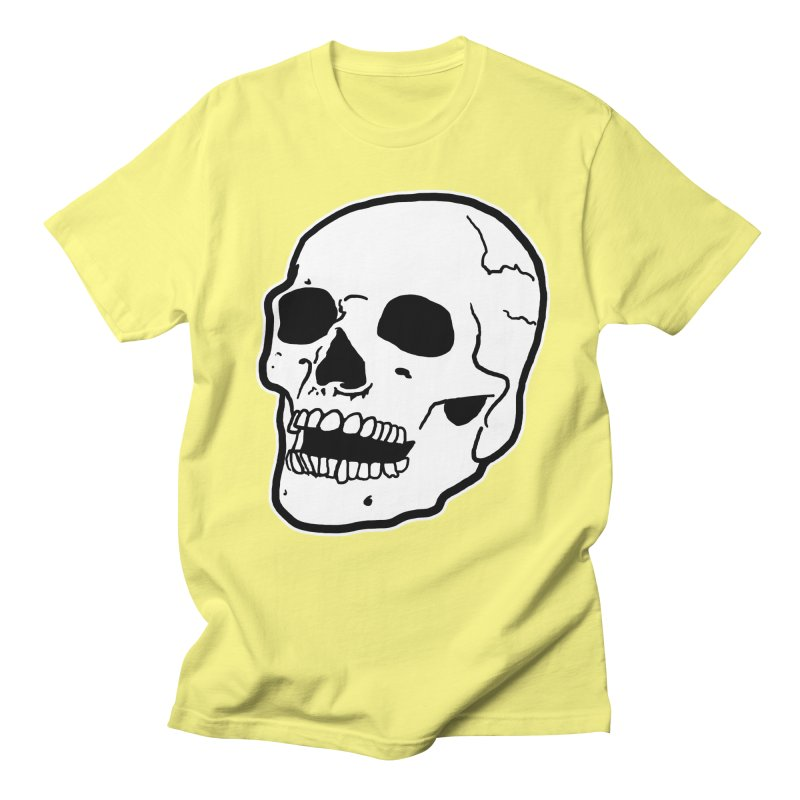 Classic Skull Men's Regular T-Shirt by miskel's Shop