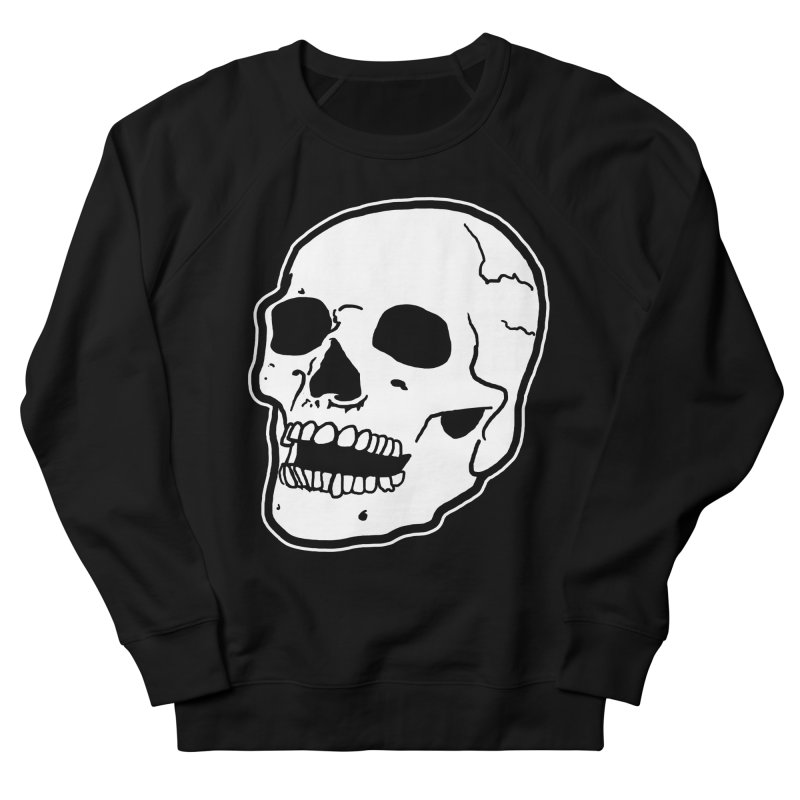 Classic Skull Women's French Terry Sweatshirt by miskel's Shop