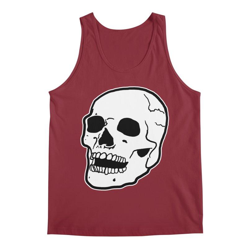 Classic Skull Men's Regular Tank by miskel's Shop