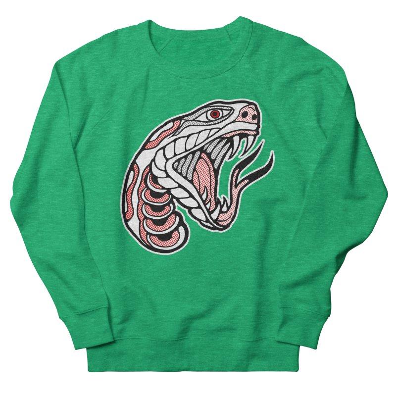 Snake Head Women's Sweatshirt by miskel's Shop