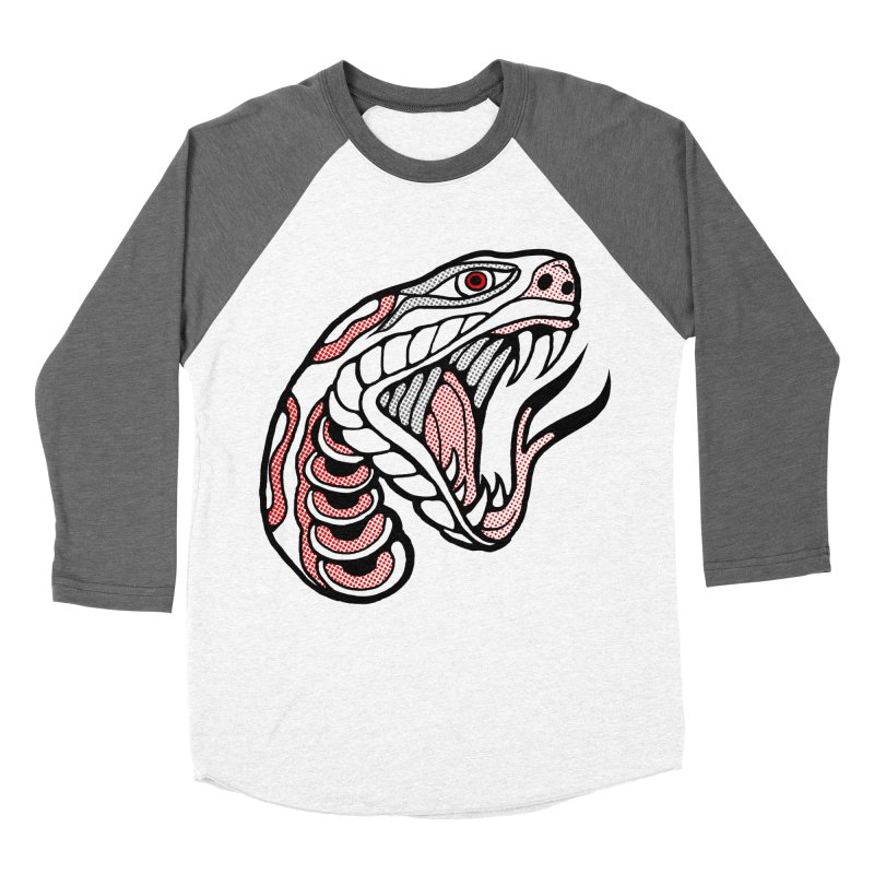 Snake Head Women's Longsleeve T-Shirt by miskel's Shop