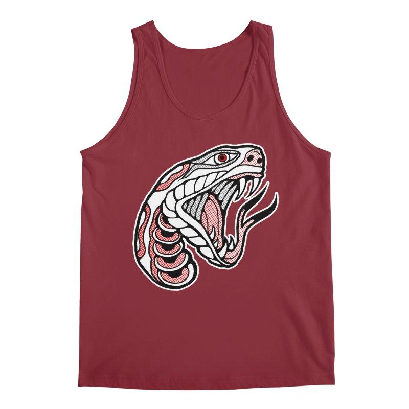 Snake Head Men's Tank by miskel's Shop