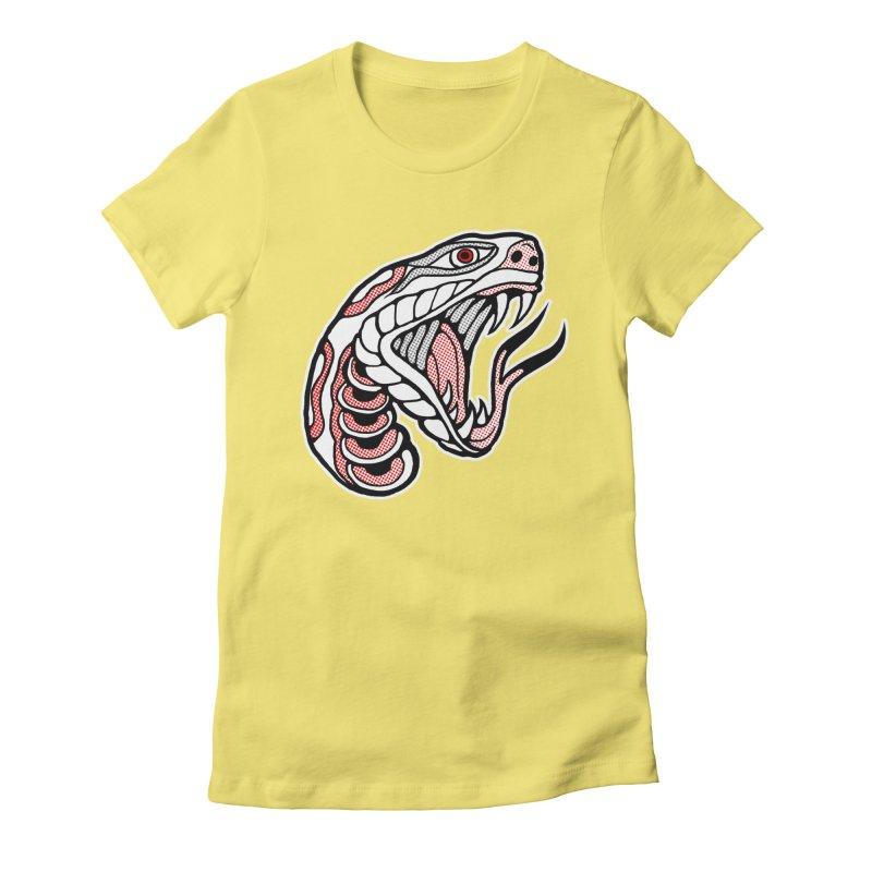 Snake Head Women's T-Shirt by miskel's Shop