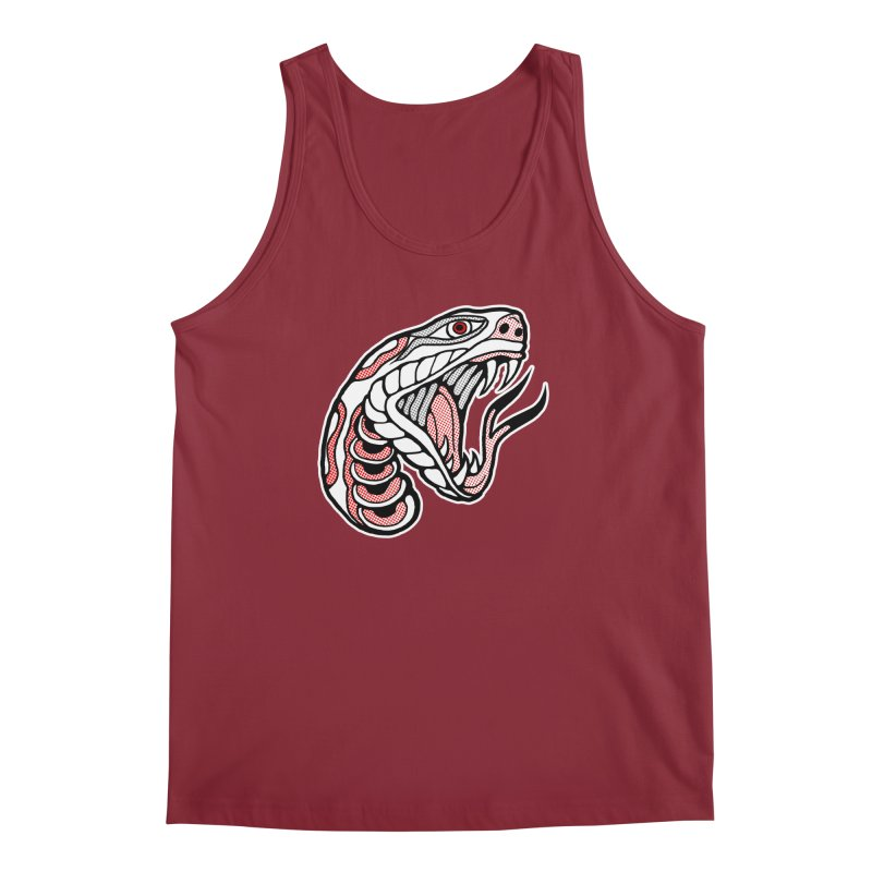 Snake Head Men's Regular Tank by miskel's Shop