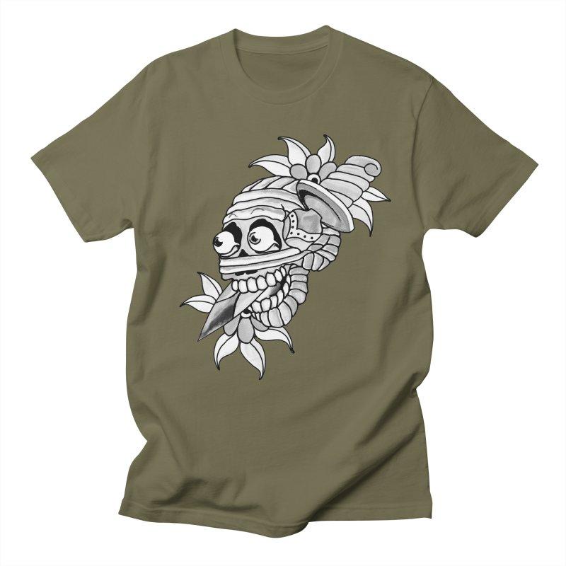 Knife Mummy Men's Regular T-Shirt by miskel's Shop
