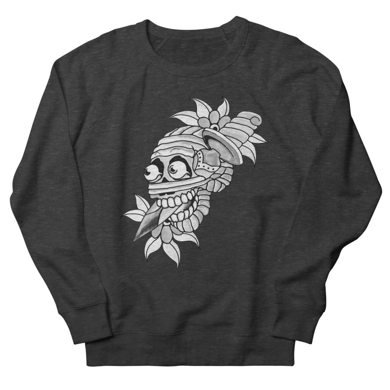 Knife Mummy Women's French Terry Sweatshirt by miskel's Shop