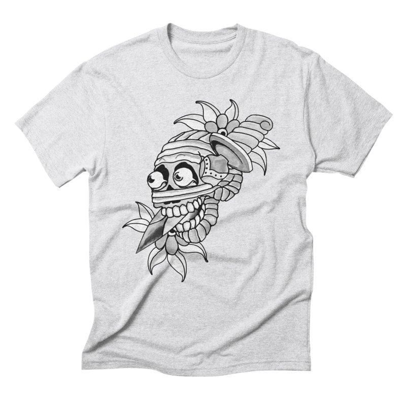 Knife Mummy Men's Triblend T-Shirt by miskel's Shop