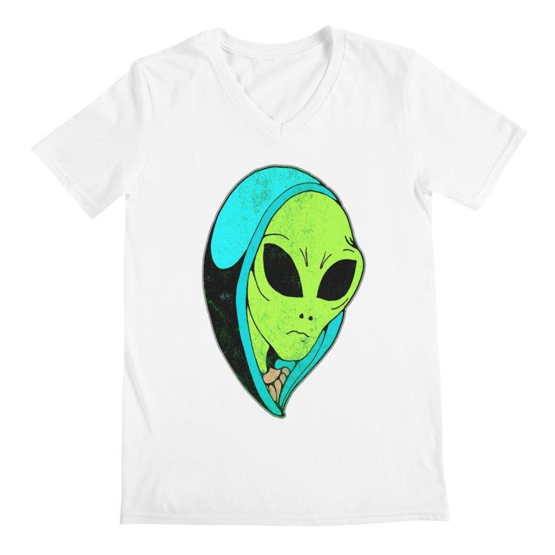 Madonna Alien Men's V-Neck by miskel's Shop