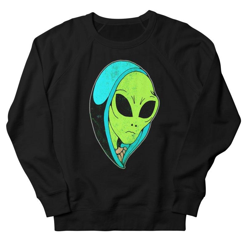 Madonna Alien Women's French Terry Sweatshirt by miskel's Shop