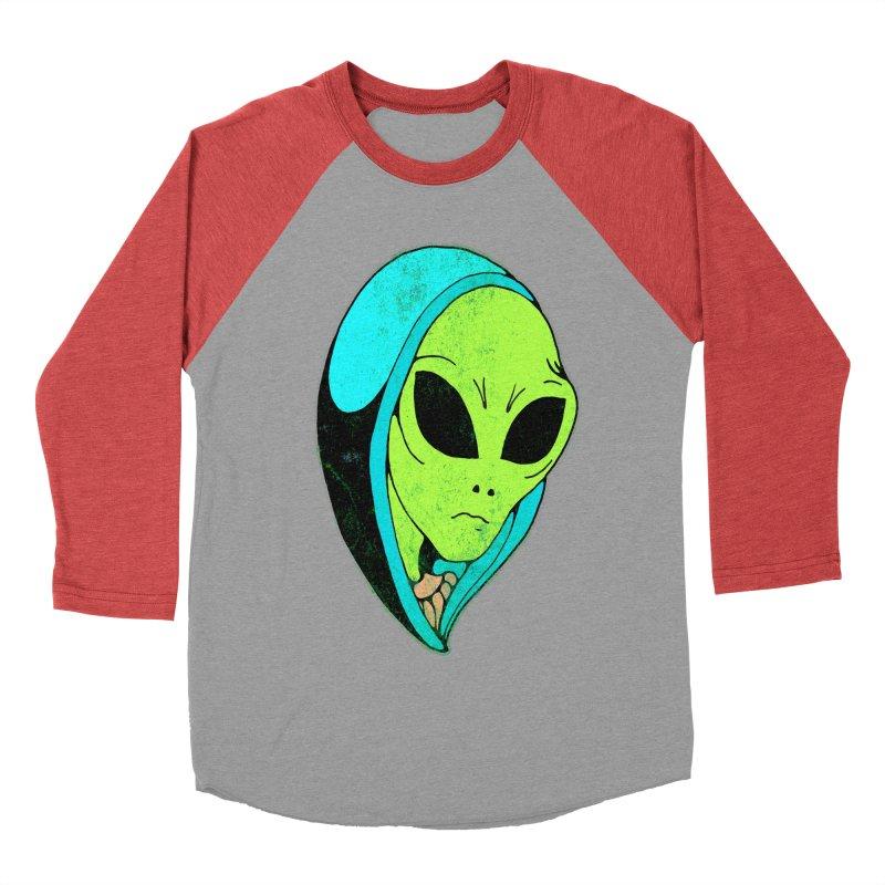 Madonna Alien Men's Baseball Triblend T-Shirt by miskel's Shop