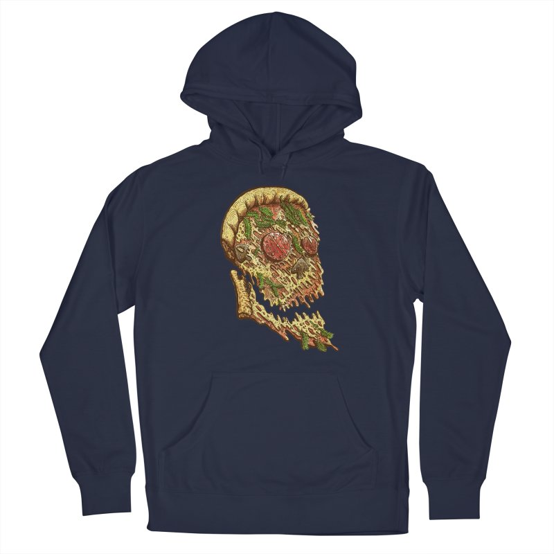 Pizza Face Men's Pullover Hoody by miskel's Shop