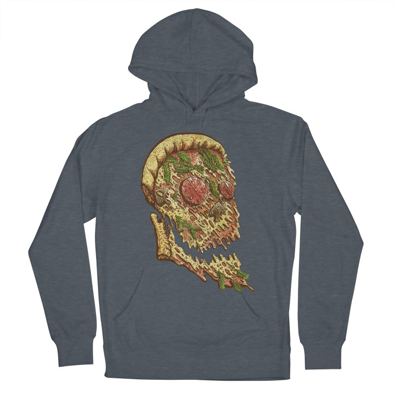 Pizza Face Women's Pullover Hoody by miskel's Shop
