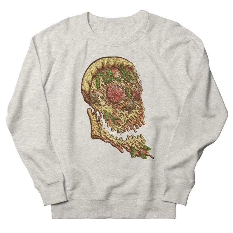 Pizza Face Men's Sweatshirt by miskel's Shop