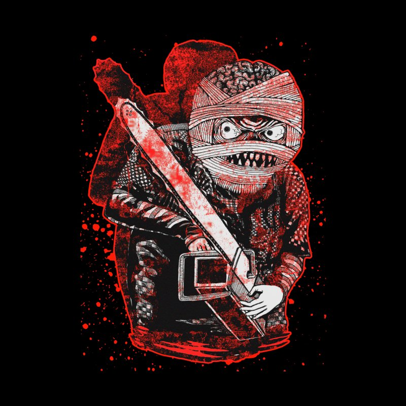 Chainsaw Mummy Women's V-Neck by miskel's Shop