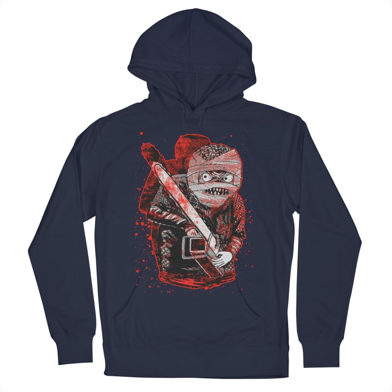Chainsaw Mummy Men's French Terry Pullover Hoody by miskel's Shop