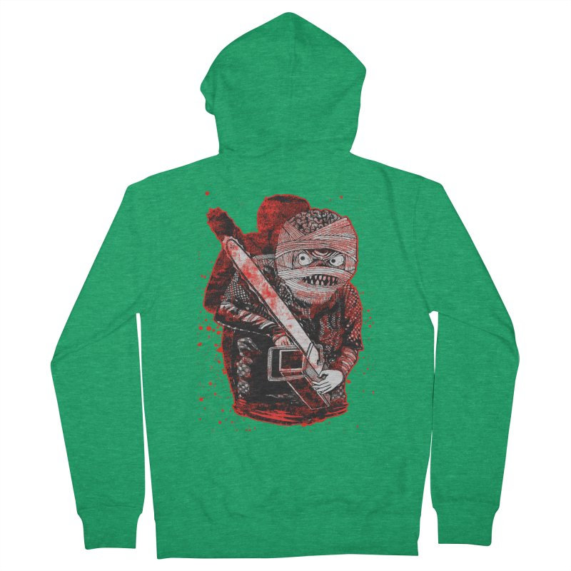 Chainsaw Mummy Women's Zip-Up Hoody by miskel's Shop
