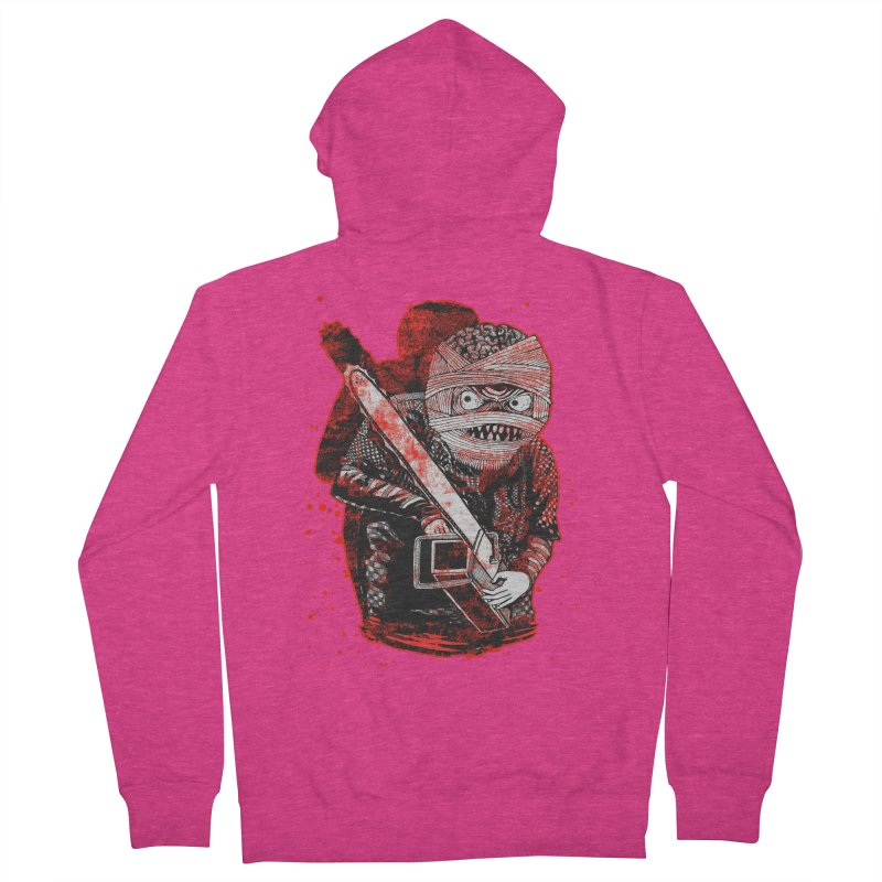Chainsaw Mummy Women's French Terry Zip-Up Hoody by miskel's Shop