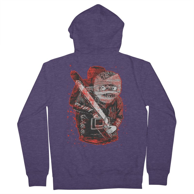 Chainsaw Mummy Men's Zip-Up Hoody by miskel's Shop