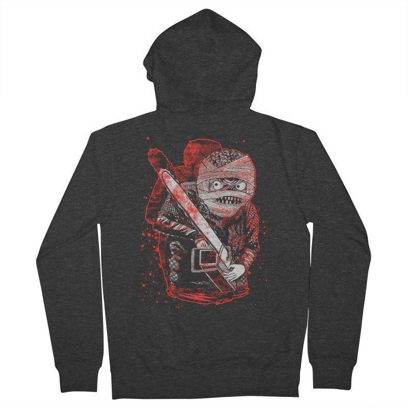 Chainsaw Mummy Men's French Terry Zip-Up Hoody by miskel's Shop