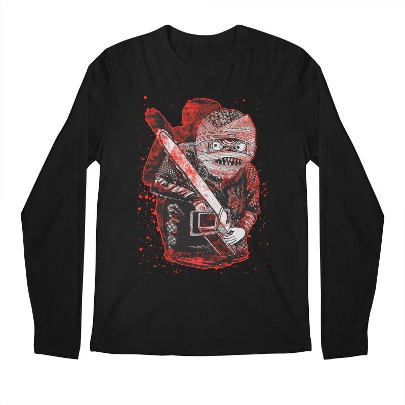 Chainsaw Mummy Men's Longsleeve T-Shirt by miskel's Shop