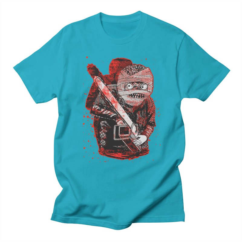 Chainsaw Mummy Men's Regular T-Shirt by miskel's Shop
