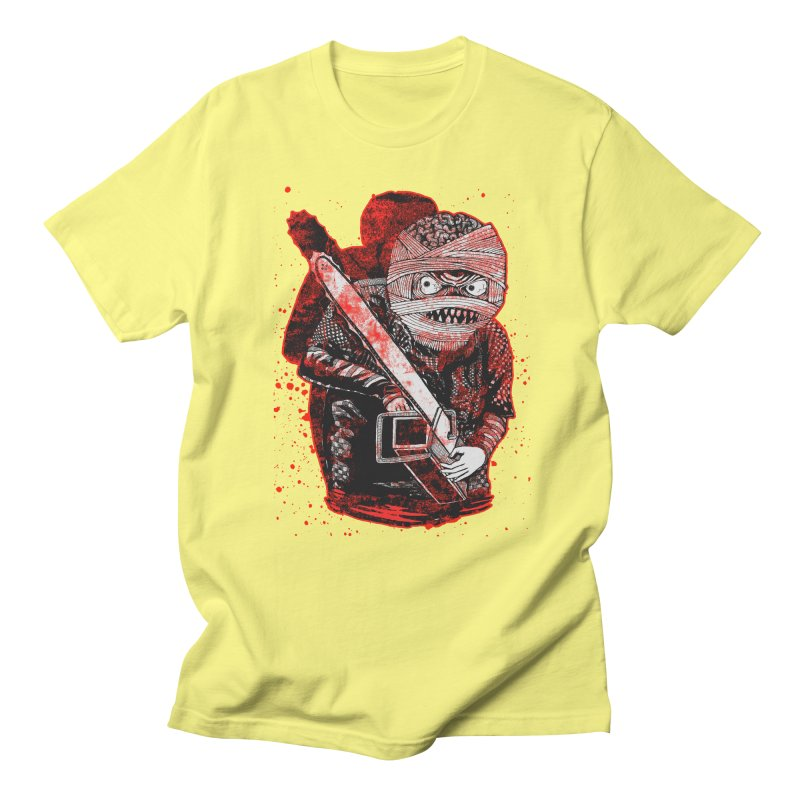 Chainsaw Mummy Men's T-Shirt by miskel's Shop
