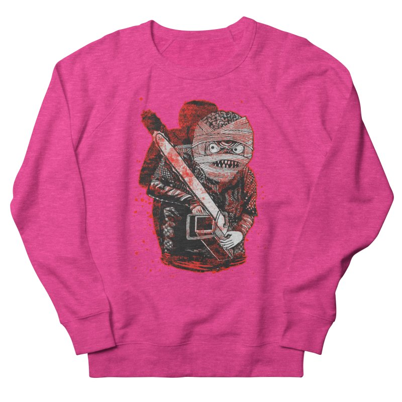 Chainsaw Mummy Women's French Terry Sweatshirt by miskel's Shop