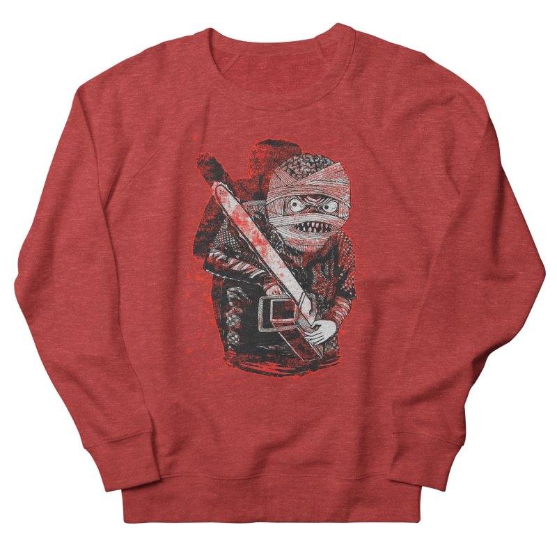 Chainsaw Mummy Men's French Terry Sweatshirt by miskel's Shop