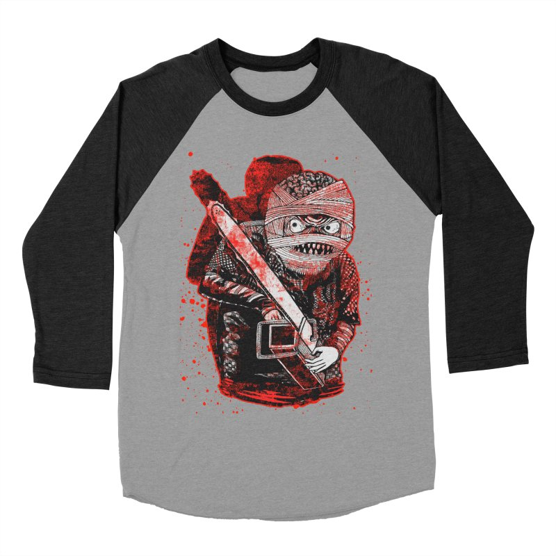 Chainsaw Mummy Women's Baseball Triblend Longsleeve T-Shirt by miskel's Shop