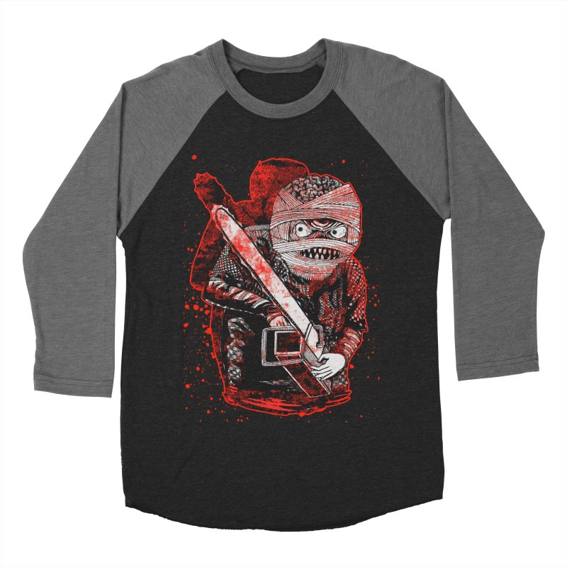 Chainsaw Mummy Men's Baseball Triblend T-Shirt by miskel's Shop