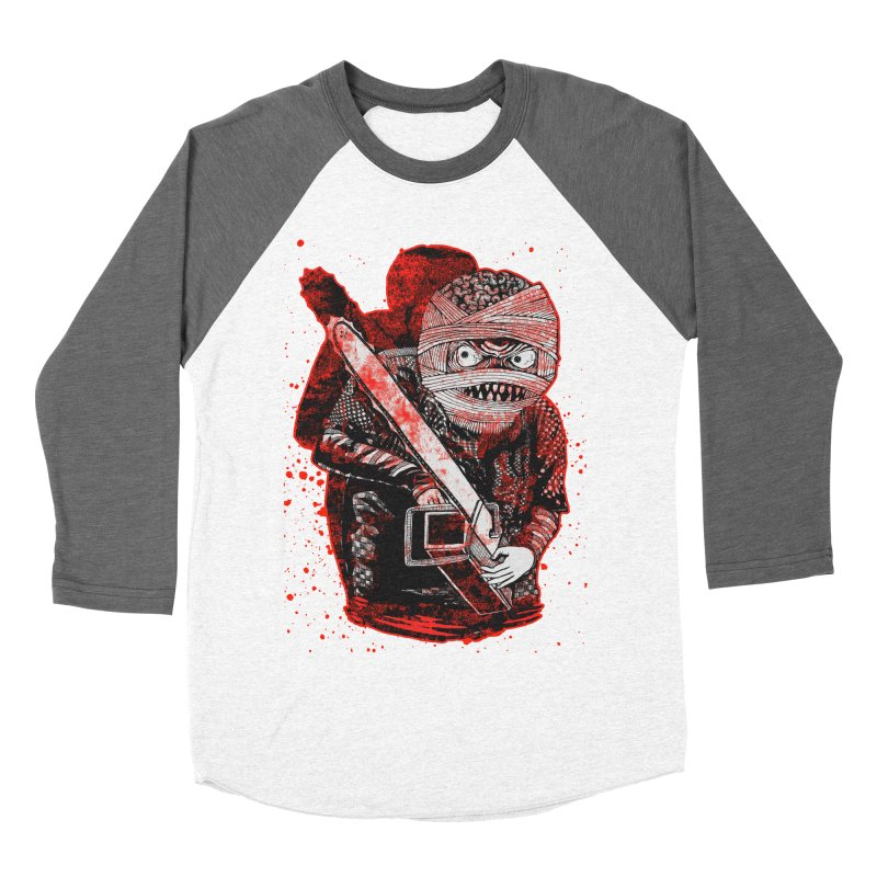 Chainsaw Mummy Men's Baseball Triblend Longsleeve T-Shirt by miskel's Shop