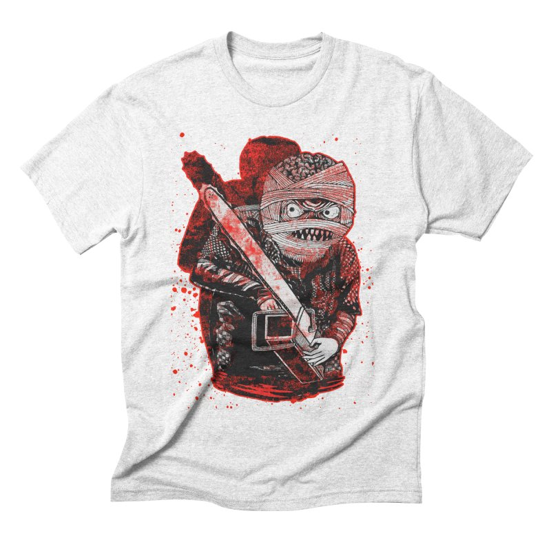 Chainsaw Mummy Men's Triblend T-shirt by miskel's Shop