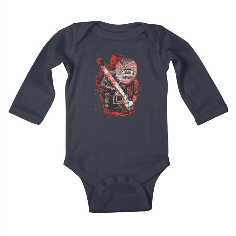 Chainsaw Mummy Kids Baby Longsleeve Bodysuit by miskel's Shop