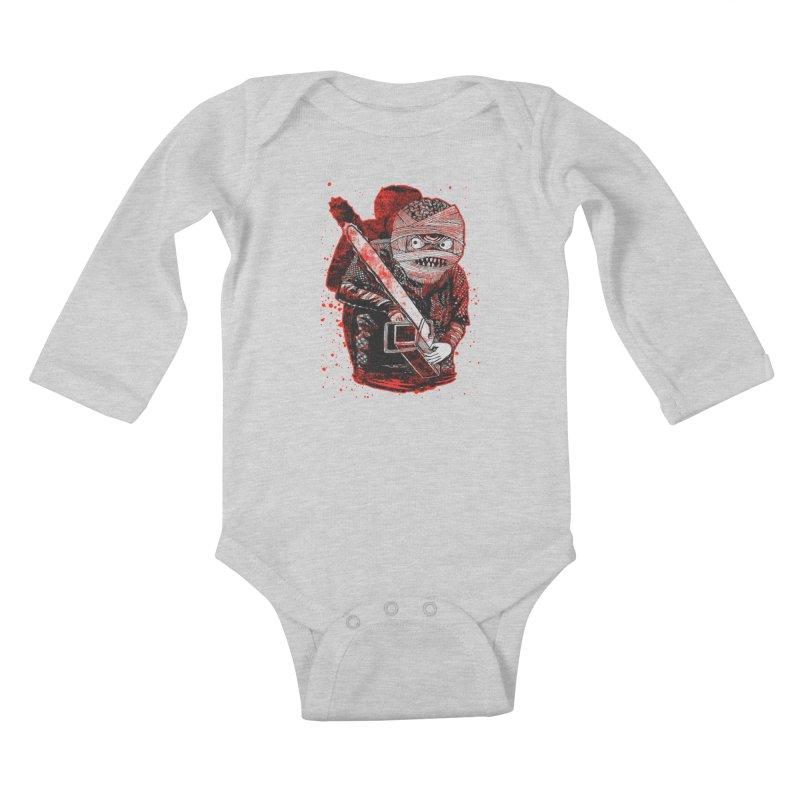 Chainsaw Mummy Kids Baby Longsleeve Bodysuit by miskel's Shop
